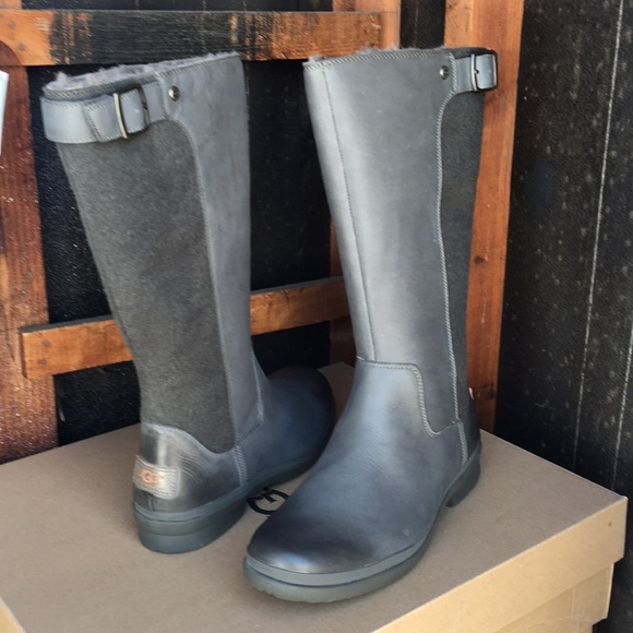 57014ff9802 New Ugg Janina Slate gray color tall boots ❤️🌹❤️ NWT